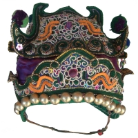 286 - Dong Minority Ceremonial Silk Hat