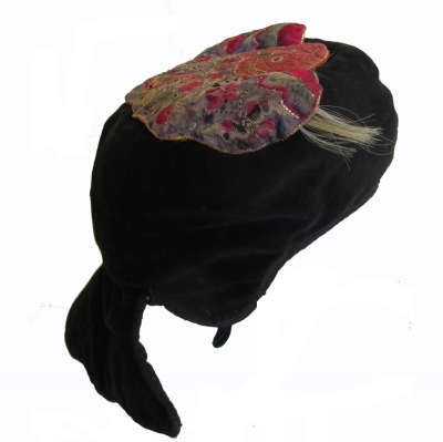 Miao Minority Butterfly Winter Hat Taijiang County