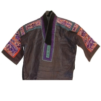 JM13 - Miao Split Silk Embroidered Jacket