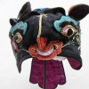 678 One-Hundred Day Chinese Blue Topped Silk Tiger Hat