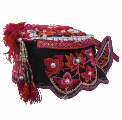 Shiping Yi Ethnic Minority Girls Hat