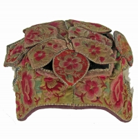 463 Bai Minority Petal Hat with Hidden Tiger