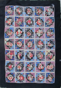 Bl -294 Zhaung Minority Wedding Quilt Top