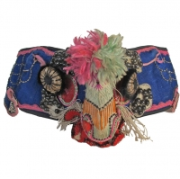 Fire Breathing Dragon Han Chinese Summer Hat