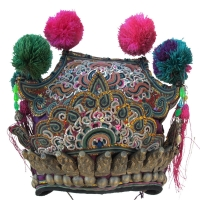 451-Dong Minority Festival Crown Hat