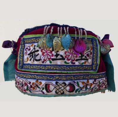 Dong Minority Hat with Needle-weaving
