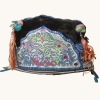 83 - Miao Ethnic Minority Silk Embroidered Girl's Hat
