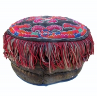 550 Miao Ethnic Minority Padded Child's Hat