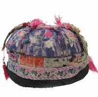 Bai Minority Silk Embroidered Guard's Hat