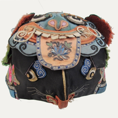 544 Magnificent Double Tiger Chinese Silk Hat