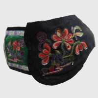 686 Silk Embroidered Chinese Child's Summer Hat