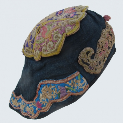 Dong or Miao Embroidered Winter Hat SE Guizhou