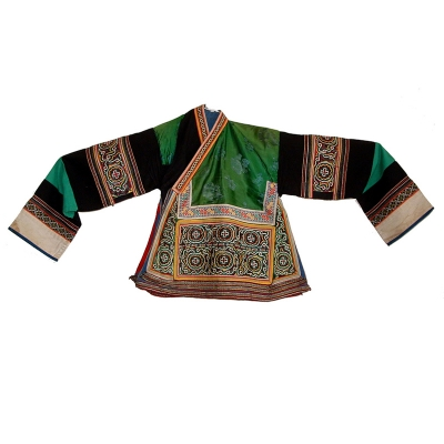 JM16 - Miao Silk Embroidered Women's Jacket